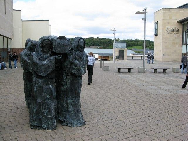 St Cuthbert arrives in Durham - Journey