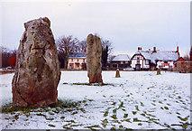 SU1070 : Avebury Stones by Steve G