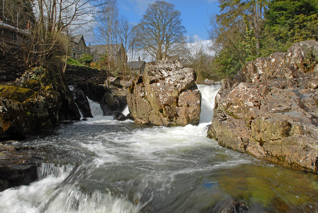Betws-y-coed waterfall