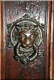 TF3244 : Sanctuary knocker by Richard Croft