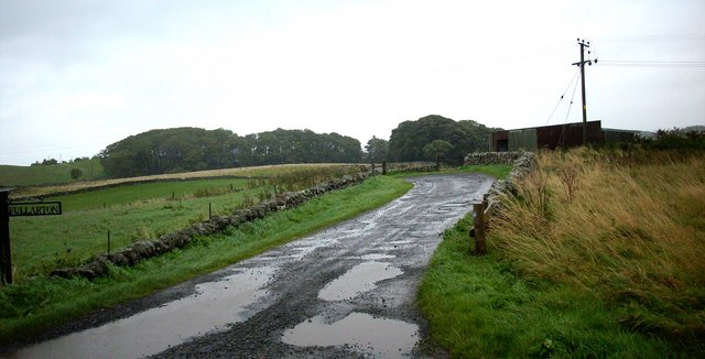 Road to Fullarton Farm