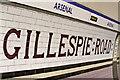 TQ3186 : Arsenal Station, London N4 by Christine Matthews
