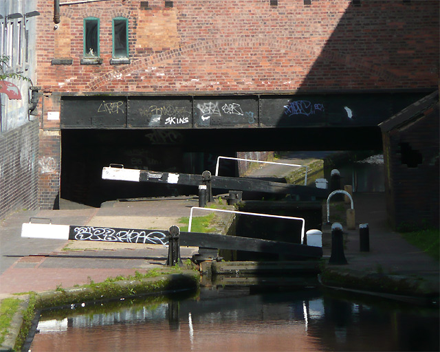 Farmer's Bridge Bottom Lock No 13, Birmingham