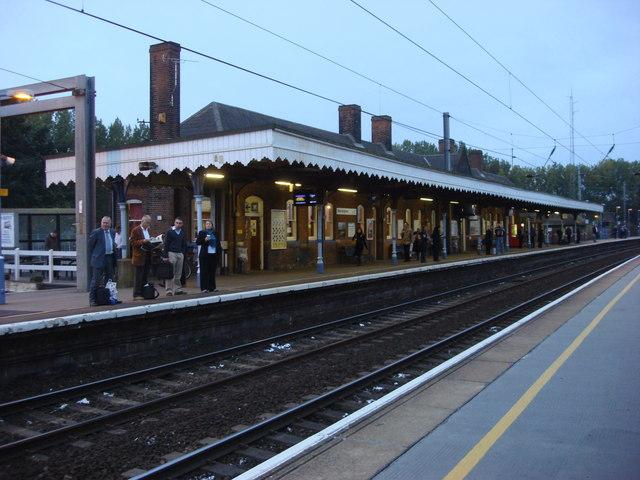 Manningtree railway station, main building