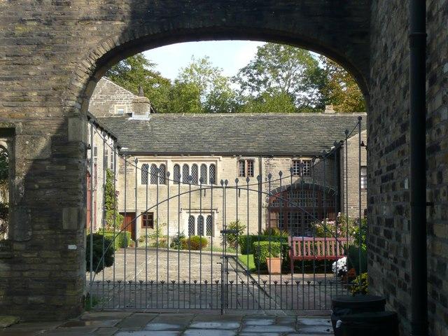 Courtyard, Field House, Upper Field House Lane, Sowerby