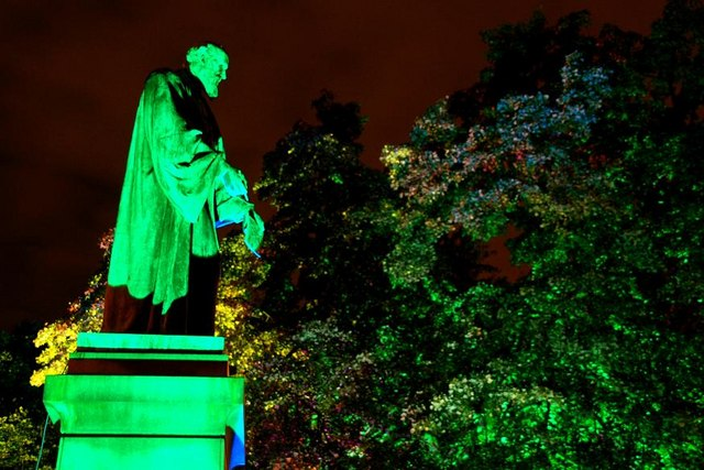 Illuminated Botanic Gardens, Belfast (5)