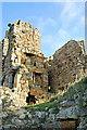 NO5101 : St Monans Castle by Jim Bain