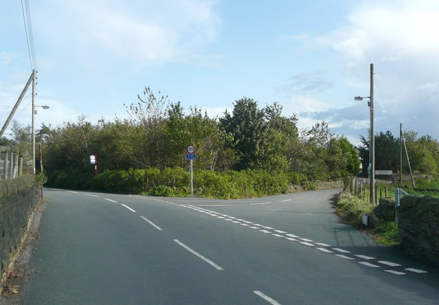 Junction of Upper Field House Lane with Rooley Lane, Sowerby