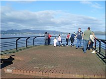 NS2876 : Viewpoint at the Greenock waterfront by Stephen Sweeney