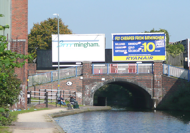 New Town Row Bridge, Birmingham and Fazeley Canal