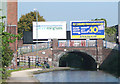 SP0787 : New Town Row Bridge, Birmingham and Fazeley Canal by Roger  Kidd