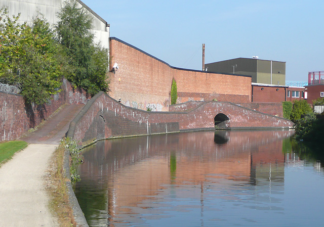 Birmingham and Fazeley Canal towards Aston Junction