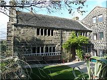 SE0225 : Middle Hathershelf Old farmhouse, Hathershelf Lane, Mytholmroyd by Humphrey Bolton