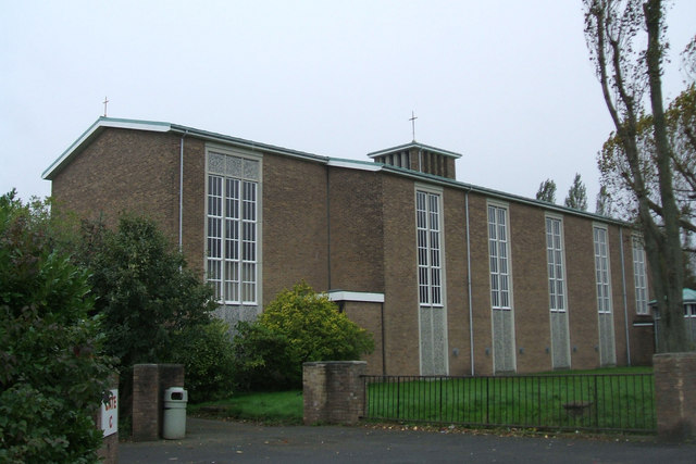 St James's RC Church, Mill Lane, Hebburn