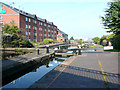 SP0788 : New hotel by Aston Locks, Birmingham and Fazeley Canal by Roger  Kidd