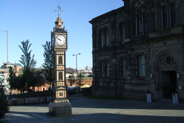 Ornate Clock, Gateshead