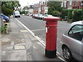 SZ1091 : Boscombe: postbox № BH1 55, Carysfort Road by Chris Downer