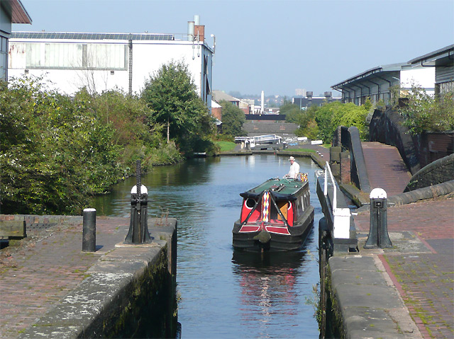 The Aston Flight, Lock 19, Birmingham and Fazeley Canal