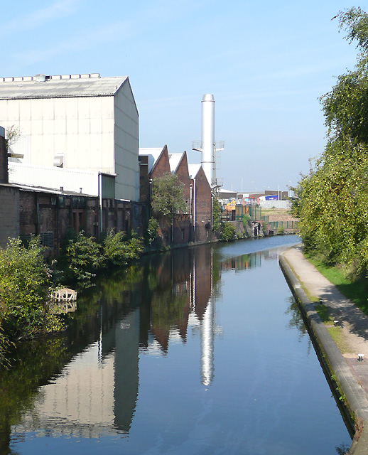 Birmingham and Fazeley Canal at Aston