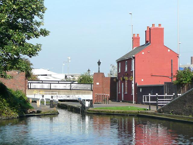 Lock No 23, Birmingham and Fazeley Canal in Aston