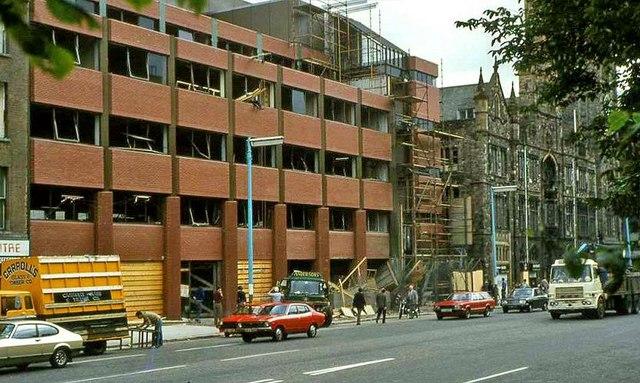 Building repairs, Belfast (1981)