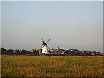 SD3727 : Lytham Windmill and old lifeboat station by Alexander P Kapp