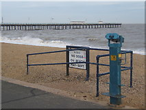 TM2934 : Seafront at Felixstowe by Andrew Hill