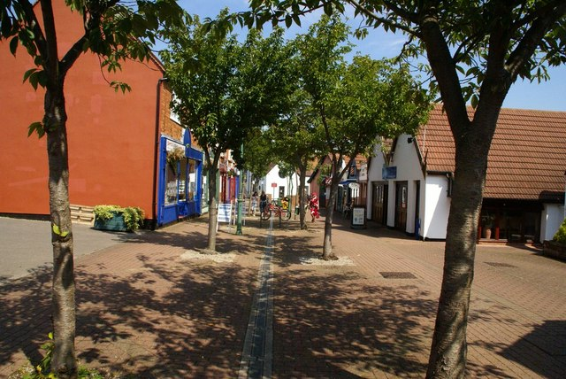 The Wynd from the market area
