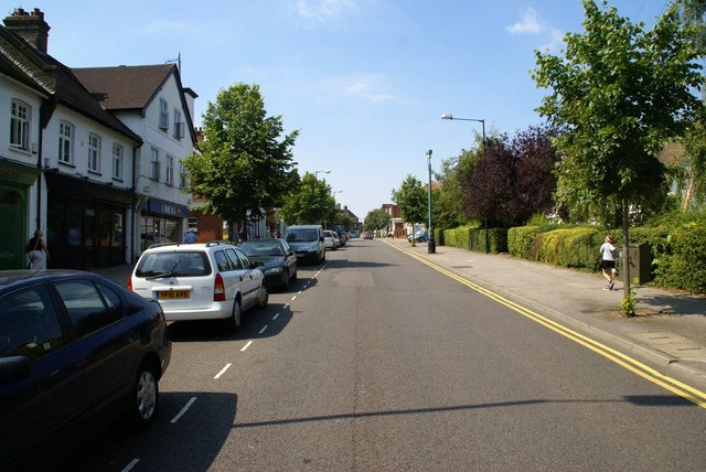 Station Road, looking west