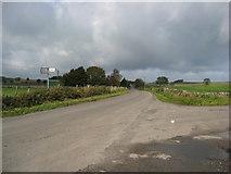 SK2256 : Lane Junction near Haven Hoe Farm by Alan Heardman