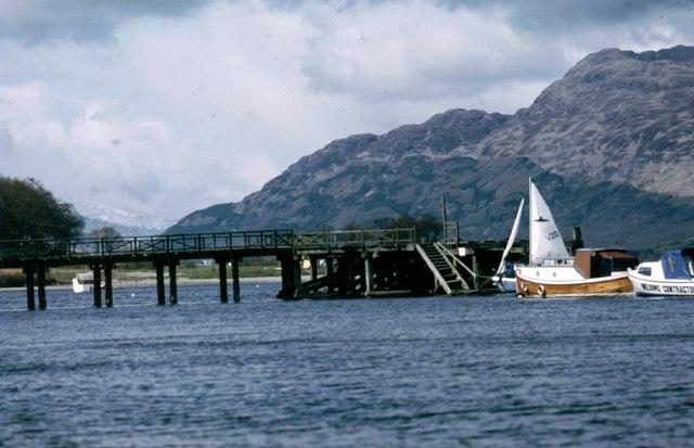 Luss Pier