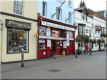 SY6778 : Weymouth - fish and chip shop by Chris Talbot