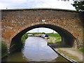 SK1509 : Plough Bridge No 83 at Huddlesford, Staffordshire by Roger  Kidd