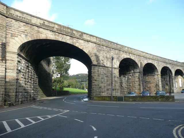 Railway viaduct, Berry Lane, Halifax