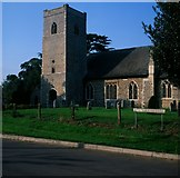 TM0099 : St Peter's church, Little Ellingham by Ben Harris