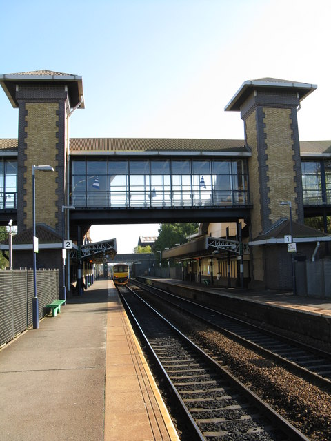 The Hawthorns railway station - general view