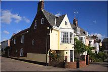 TM0321 : Captain's Cottages, Wivenhoe by Bob Jones